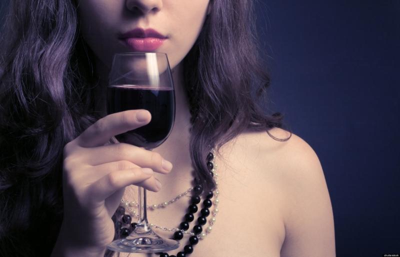 Rượu vang và phụ nữ