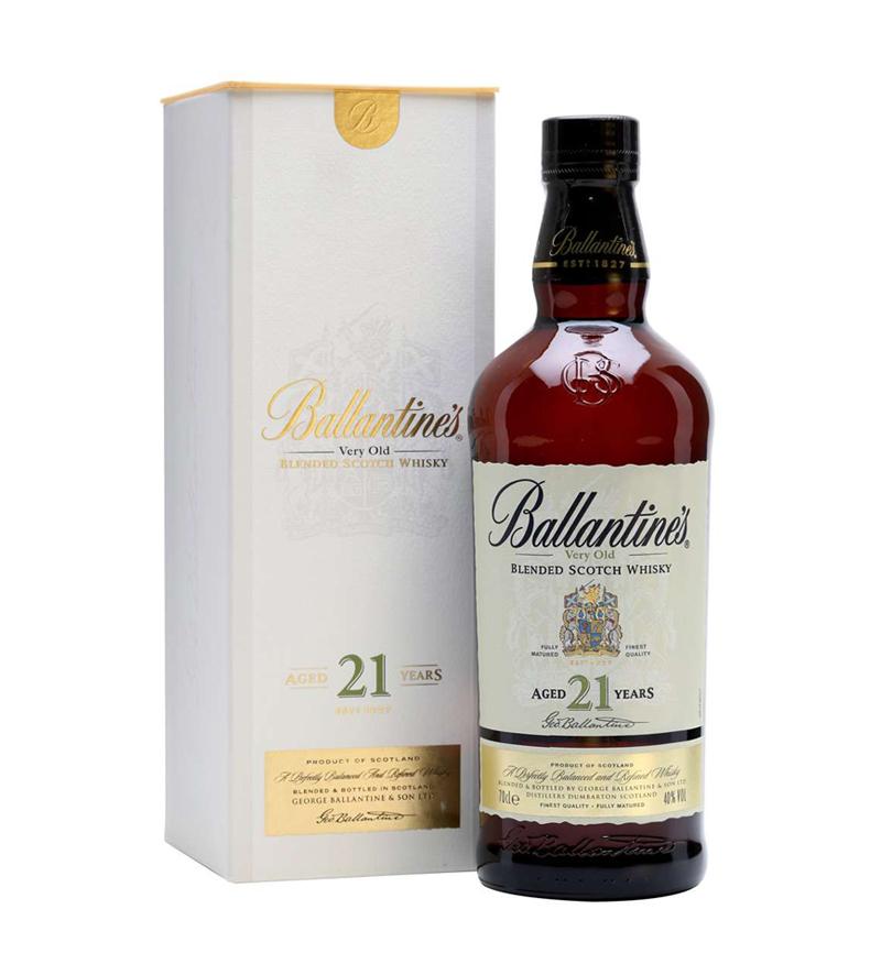 Rượu Ballantines 21 Years