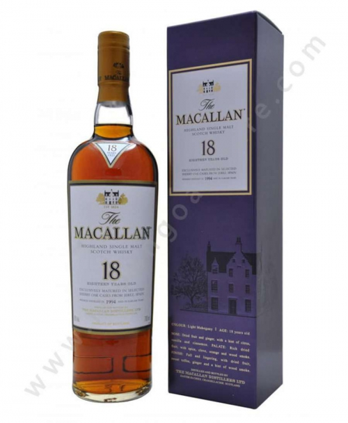 Rượu MacaLLan 18 Year