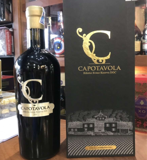 Rượu vang Ý C Capotavola Biferno Rosso Riserva