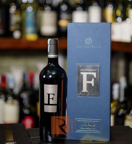 Rượu Vang Ý F Negroamaro Salentino chữ F