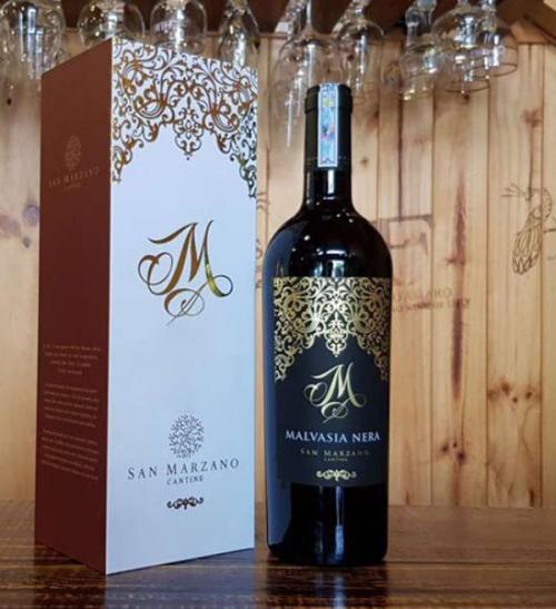 Rượu Vang Ý M Malvasia Nera / Cantine San Marzano